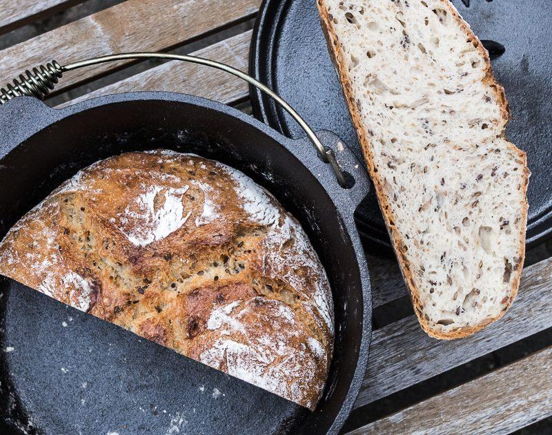 Topf-Brot Saaten-Quark- Brot