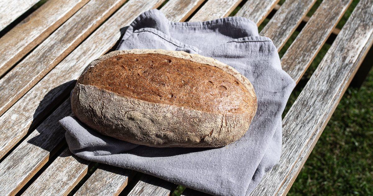 Brote für Brotbackstarter Nr. 4: Alltags-Weizen-Rucbrot