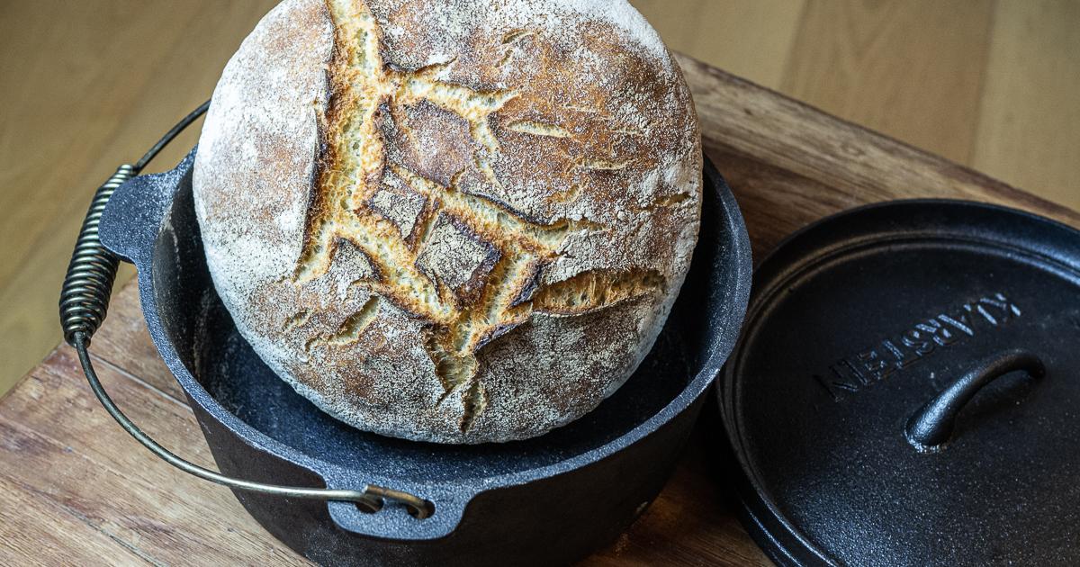 Brote für Brotbackstarter Nr. 5: Dinkel-Hartweizen-Brot