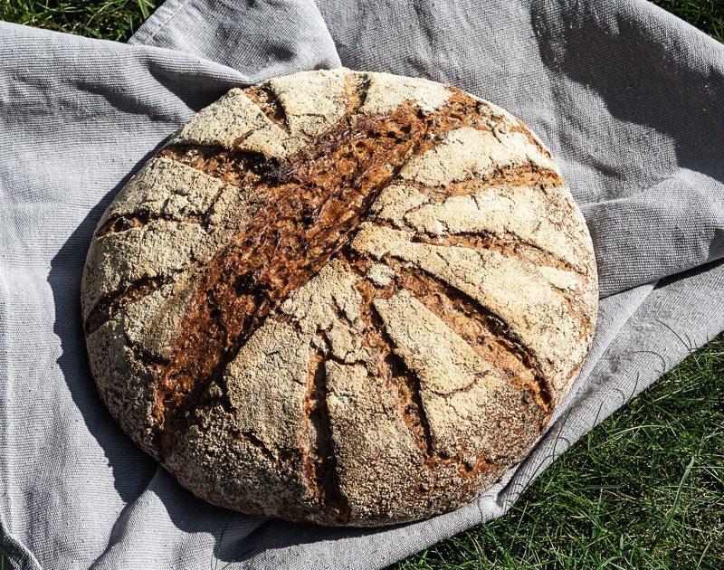 Rezept: Kerniger Weizen-Dunst-Laib